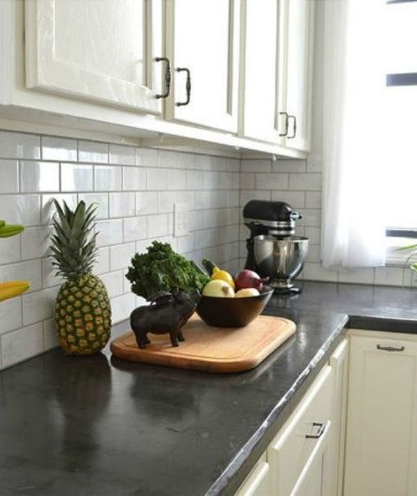 13 different ways to make your own concrete kitchen countertops hometalk - Concrete Kitchen Countertops