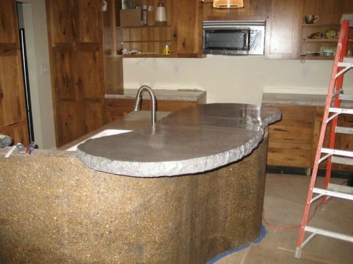 S 13 Diffe Ways To Make Your Own Concrete Kitchen Countertops Masonry