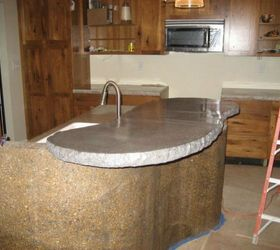 Awesome Attach A Curved Slab Of Concrete