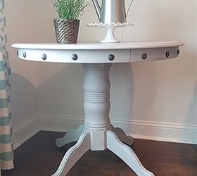 Nice Pedestal Table Do Over, Chalk Paint, Painted Furniture