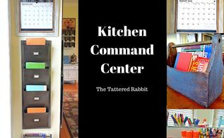 kitchen command center, crafts, how to, kitchen design, organizing, painting
