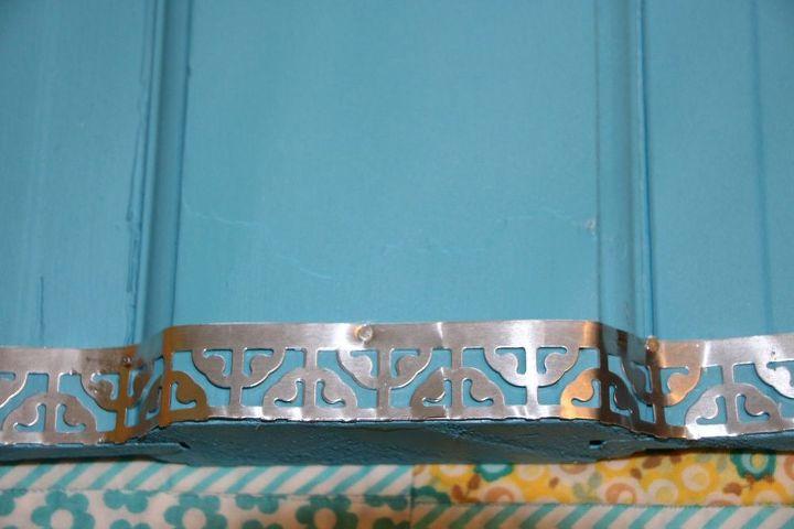 decorative metal trim