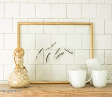 simple diy feather art, crafts, wall decor