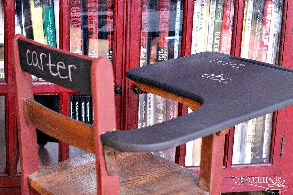 vintage school desk diy is a head of the class hometalk