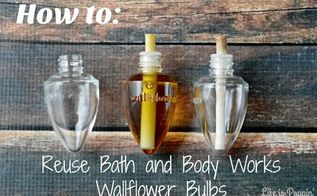 how to reuse bath and body works wallflower bulbs read more at http , crafts, repurposing upcycling