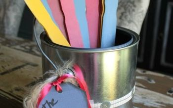 diy bored buckets for summer, crafts, how to, painting, repurposing upcycling