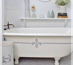 Or Paint The Side Of Your Tub With A Design