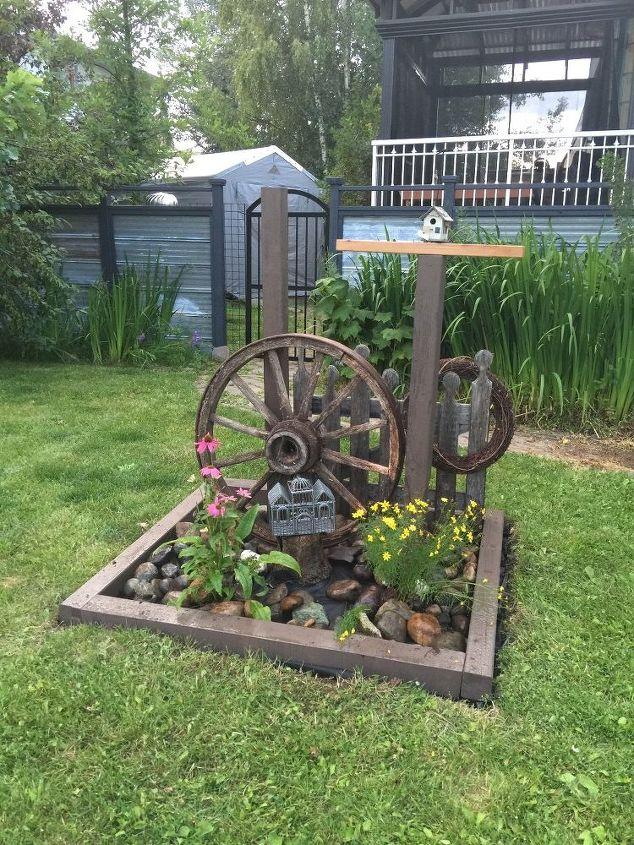 Country style yard art. - Country Yard Art. Hometalk