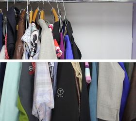 The Cheapest Closet Space Saver Ever , Bedroom Ideas, Organizing,  Repurposing Upcycling, Storage