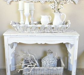Diy Painted Willow Woven Basket, Crafts, Painting