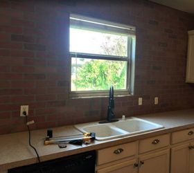 Builder Basic Kitchen Upgrade, Kitchen Design, Painting, Painting Cabinets