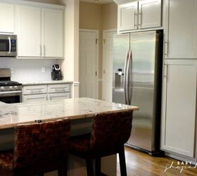 Gray Kitchen Makeover Before After, Kitchen Cabinets, Kitchen Design