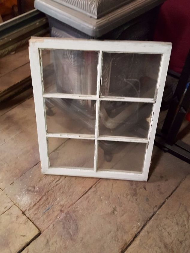 A Different Use for an Old Window Frame | Hometalk