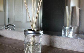 diy reed diffuser, bathroom ideas, crafts, how to, mason jars