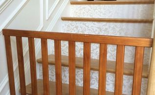stairway gate made from a child s crib , how to, repurposing upcycling
