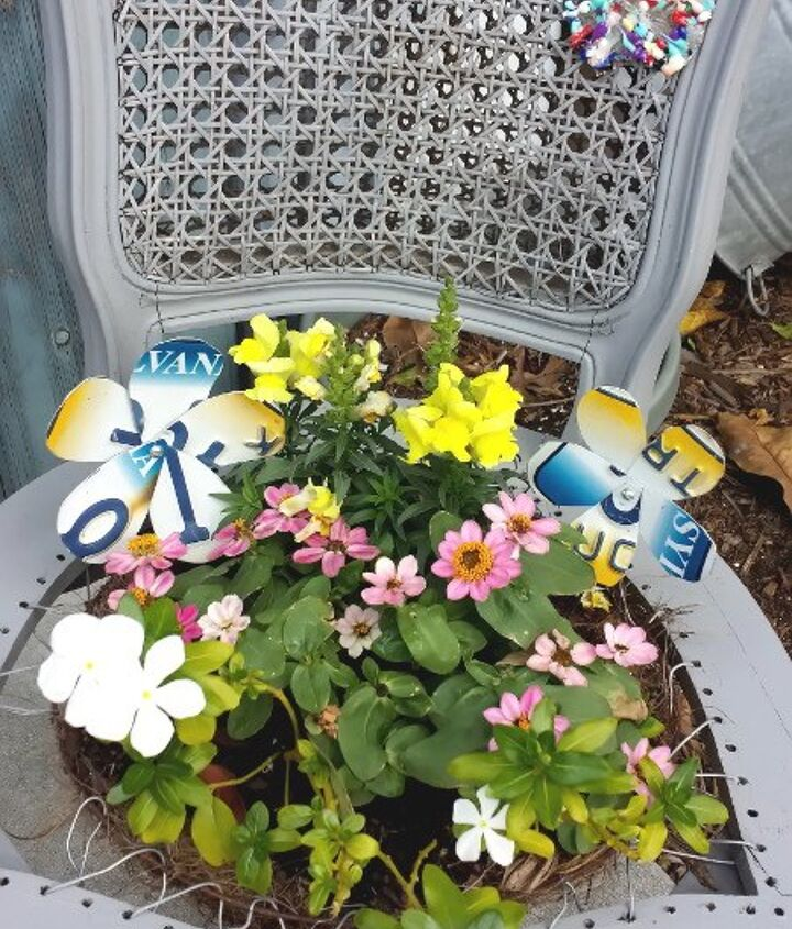 flowers that never die, crafts, gardening, how to, repurpose household items