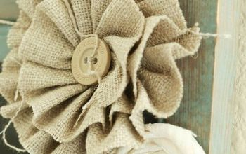 diy ruffled flowers, crafts, flowers, how to, wall decor
