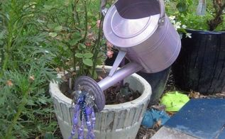 faux watering can, crafts, how to, repurposing upcycling