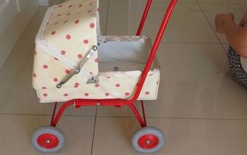 pram from years ago, crafts, how to, reupholster