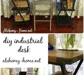DIY Industrial Desk: No Power Tools Needed!