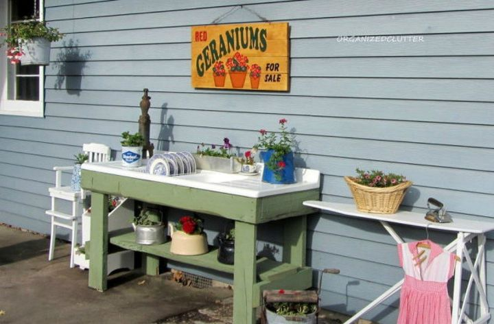 s 9 outdoor kitchens we re dreaming of this bbq season, kitchen design, outdoor living, This adorable vintage one