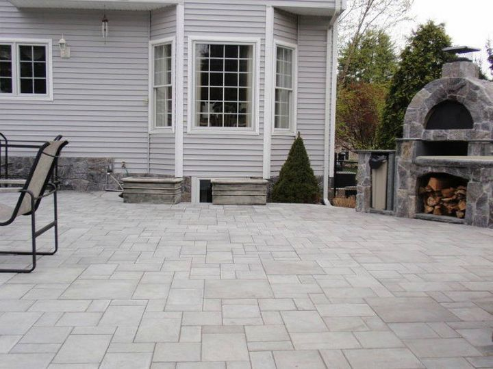 s 9 outdoor kitchens we re dreaming of this bbq season, kitchen design, outdoor living, This spacious stone one