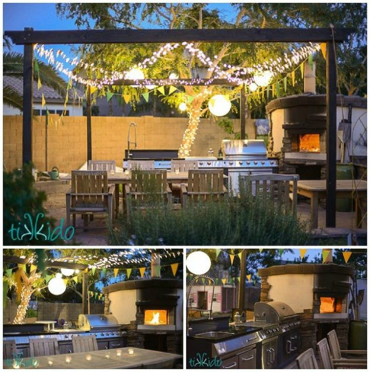 s 9 outdoor kitchens we re dreaming of this bbq season, kitchen design, outdoor living, This one with a handmade pizza oven