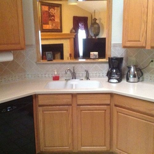 paint or stain kitchen cabinets should i paint or stain my kitchen cabinets hometalk 24319