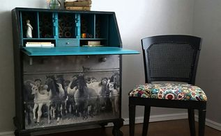 love of horse image transfer teen girl secretary this , bedroom ideas, decoupage, how to, painted furniture