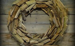 what to do with all that summer beachcombing driftwood, crafts, how to, repurposing upcycling, wall decor, wreaths