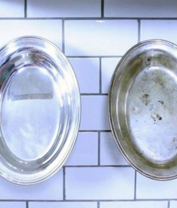 s here s why you should be buying extra rolls of tin foil, cleaning tips, It cleans silver without any scrubbing