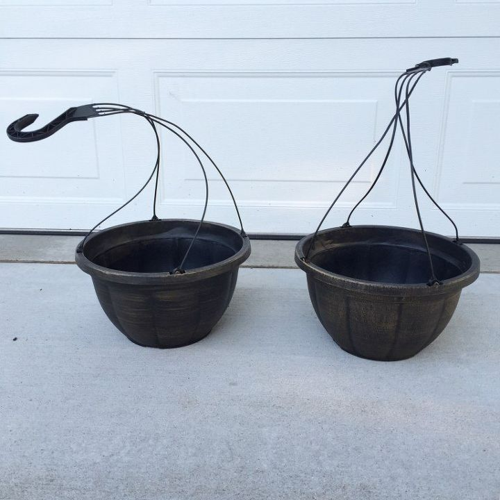 Plastic Hanging Baskets For Plants: How To Make Your Cheap Plastic Planters Look High-End