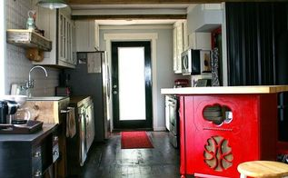 our country kitchen reveal , kitchen design, repurposing upcycling