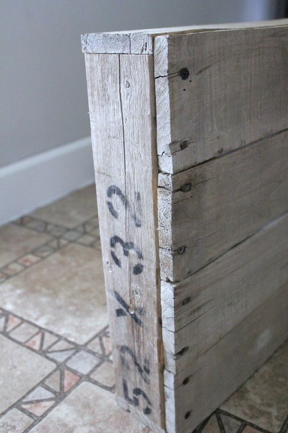 farmhouse pallet kitchen light box, how to, lighting, pallet, repurposing upcycling