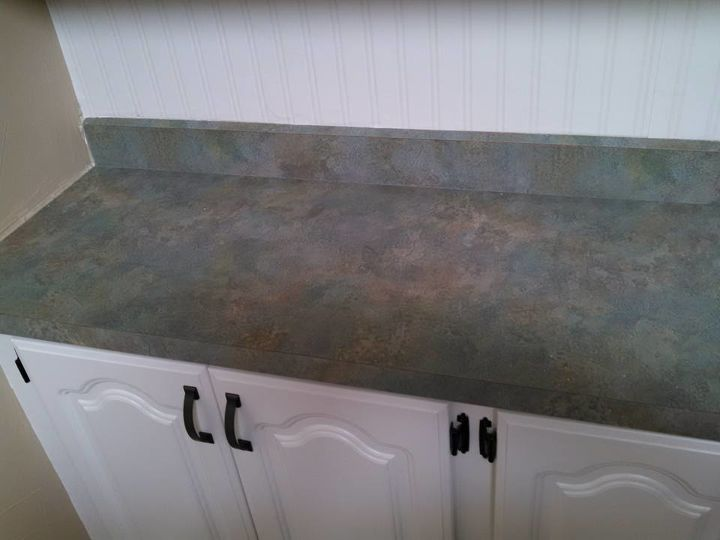 Painting My Kitchen Counter Tops To Look Like Granite Countertops How