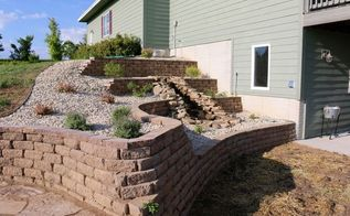 landscape project make over completed, landscape, outdoor living, patio, ponds water features