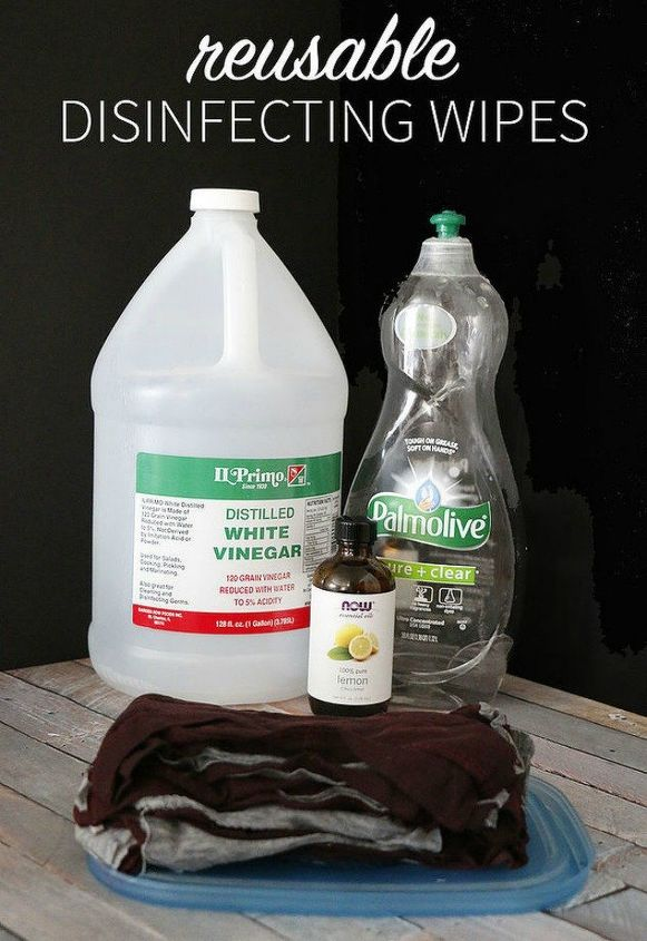 s what you didn t know you could do with your old clothes, They re better than Clorox disinfectant wipes