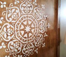 boho style diy mandala wall hanging, crafts, how to, painting, wall decor