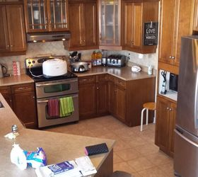 Diy Kitchen Makeover Painted Counters Backsplash Cabinets Epoxy, Countertops,  Kitchen Backsplash, Kitchen Cabinets