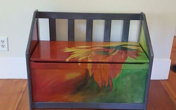 Child's Toy Chest Gets Makeover