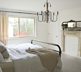 Farmhouse Master Bedroom, Bedroom Ideas, Painting, Shabby Chic