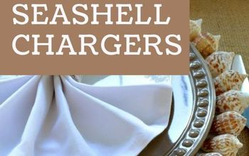 how to make seashell chargers, crafts, how to, repurposing upcycling