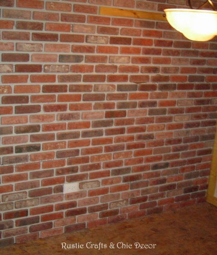 s why everyone is copying these amazing brick paneling ideas, Of course you can always grout real brick
