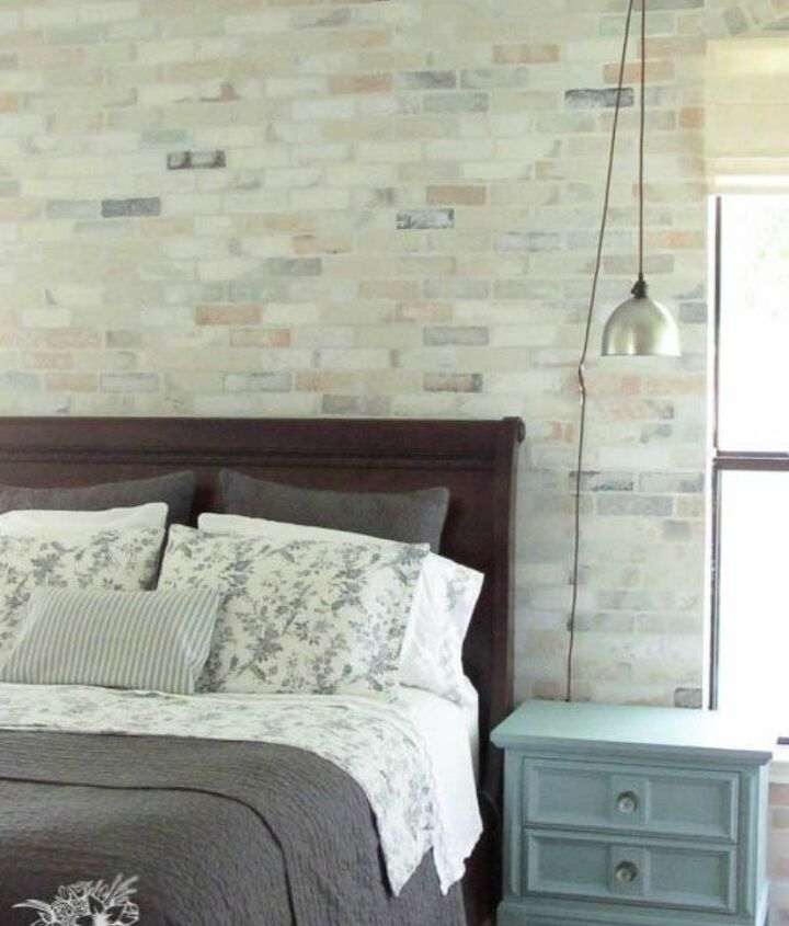 s why everyone is copying these amazing brick paneling ideas, But a stencil is probably the easiest