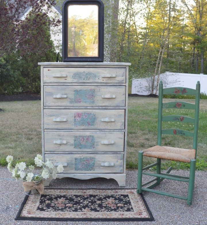 Scrumptious Shabby Chic With Old Fashioned Milk Paint How To Painted Furniture Painting