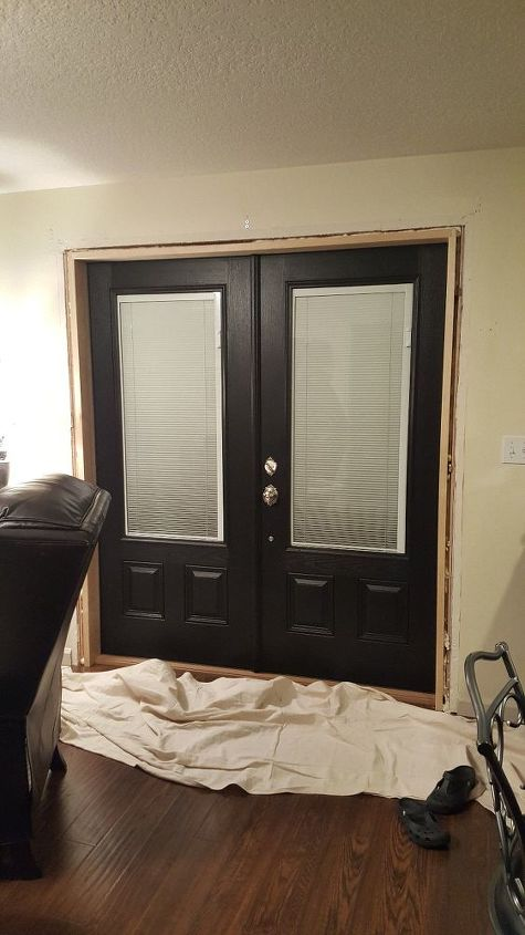 How To Replace Your Sliding Doors With French Doors Hometalk