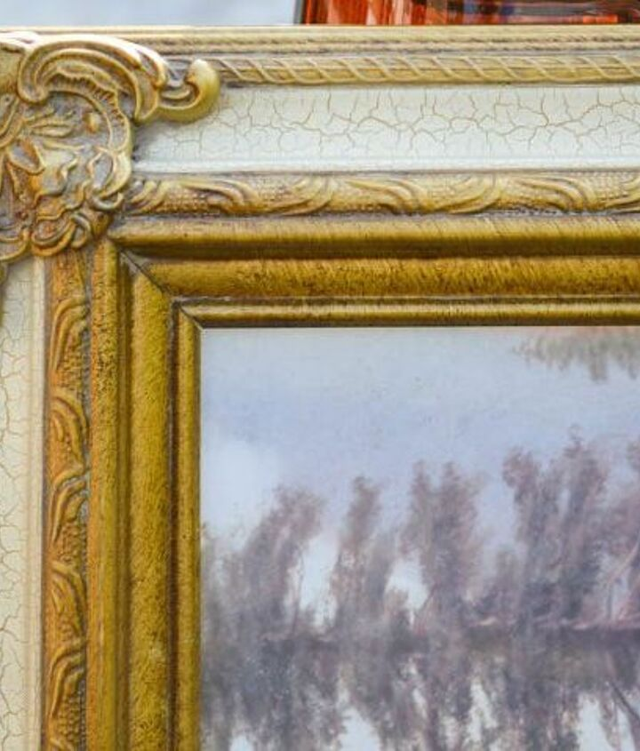 don t throw away that frame , chalk paint, crafts, how to, painting, repurposing upcycling, shabby chic, wall decor