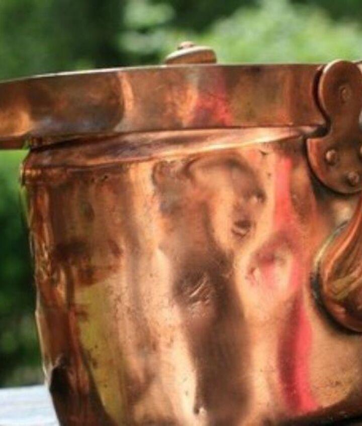 s 12 miraculous home hacks using salt, Shine your copper pots and pans