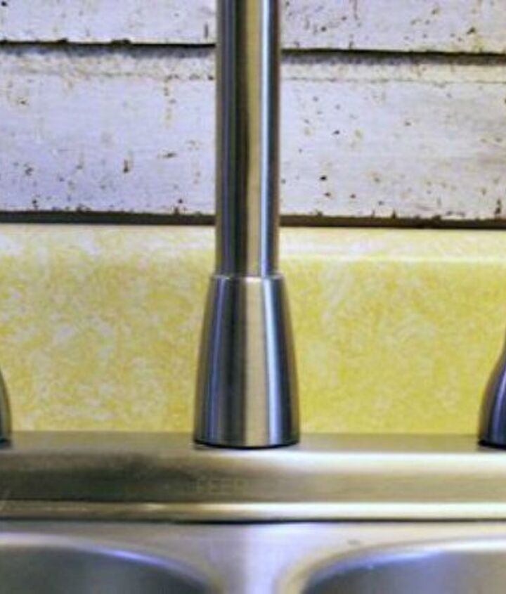 s 12 miraculous home hacks using salt, Get rid of lime deposits on your sink