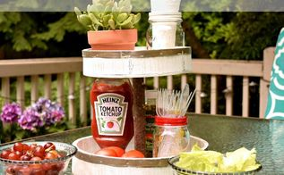 diy rustic farmhouse two tiered tray for 3 , crafts, how to, painting